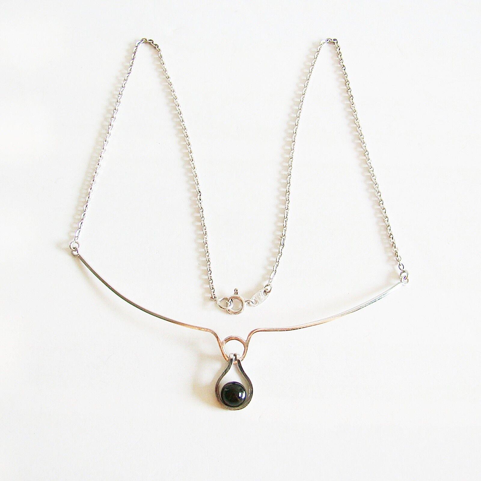 Collier oro BIANCO 333er COLLANA Onyx Onyx Onyx catena d'oro 8 kt da donna gioielli d'oro e6d001