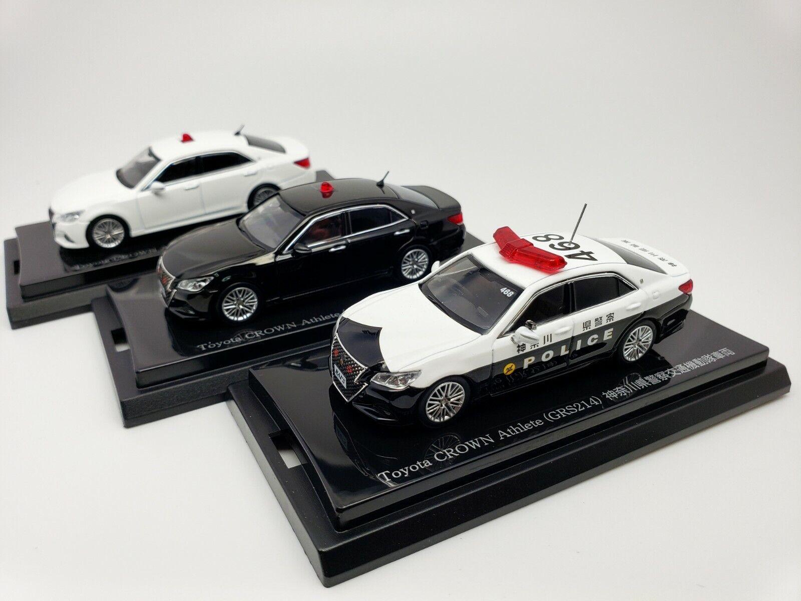 1 64 Kyosho RAI's Jugueteota Corona atleta GRS214 S Series Japón coches de policía patrulla 3