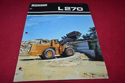 Michigan L270 Wheel Loader Dealer/'s Brochure YABE15 ver2