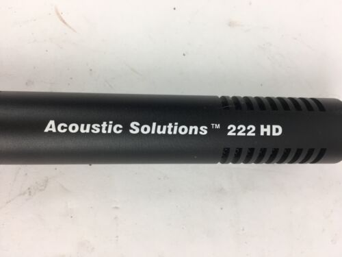 Boom Microphone stereo SONY RED PRICE DROP Acoustic Solutions AS222HD Shotgun