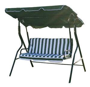 Image Is Loading Swinging Garden Hammock Swing Chair Outdoor Bench Seat