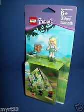 NEW LEGO Friends Jungle Accessory Summer Camping Tent Set 850967 Contains 39pcs.