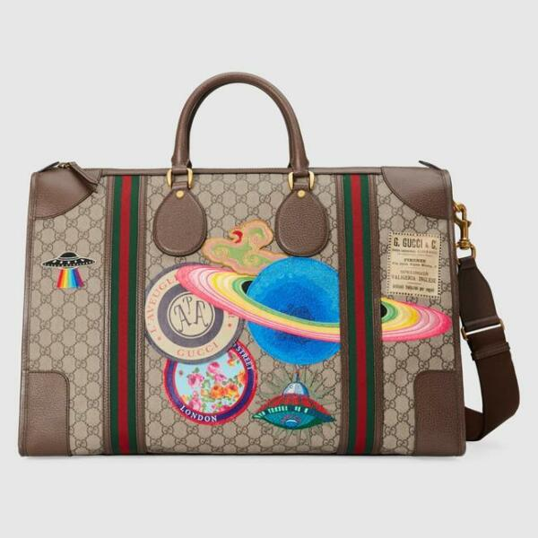 ebf670a34c89 Gucci Courrier Soft GG Supreme Duffle Bag for sale online | eBay