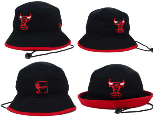 Chicago Bulls Authentic New Era NBA Bucket Fish Boat  L XL XXL Hat Cap NWT