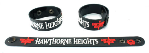 Rubber Bracelet Wristband Ohio Is For Lovers Aa319 Hawthorne Heights New