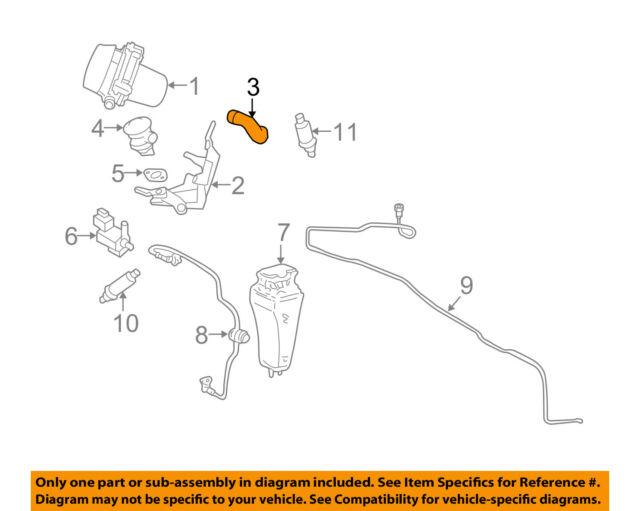 PORSCHE OEM 05-08 911 3.6L-H6 Emission System-Vapor Hose 99711333902