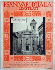 1932-8-Santuari-d-039-Italia-Santuario-di-Maria-Assunta-della-Civita-in-Arpino