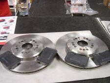 for LEXUS LS400 CELSIOR UCF20 CROSS DRILLED GROOVED BRAKE DISC BRAKE PADS FRONT