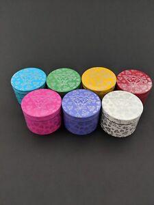 4-Piece-2-Inch-Tobacco-Herb-Grinder-Spice-Diamond-Print