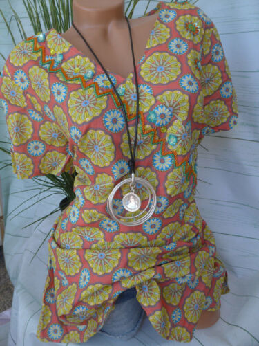 Joe Browns Tunika Shirt Bluse Gr 42-58 schönes Muster 361 NEU