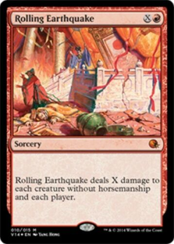 ROLLING EARTHQUAKE Magic From the Vault Annihilation mtg m//nm FOIL