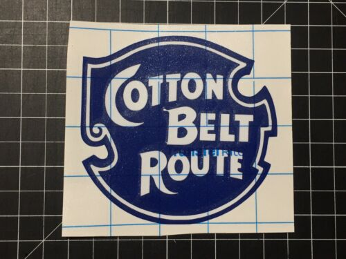 Cotton Belt Route Decal Two Color