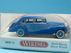WIKING-083803-ROLLS-ROYCE-SILVER-WRAITH-1-87