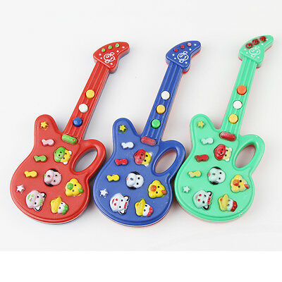 New 1PCS Mini Guitar Toy  Kids Baby Musical Instrument Piano Toy Birthday Gift