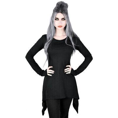 Killstar Gothic Goth Victorian Steampunk Langarm Top Oberteil Shirt Sceptre