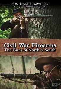 """Civil War DVD rare, """"Civil War Firearms: The Guns of North & South"""" Gun history"""