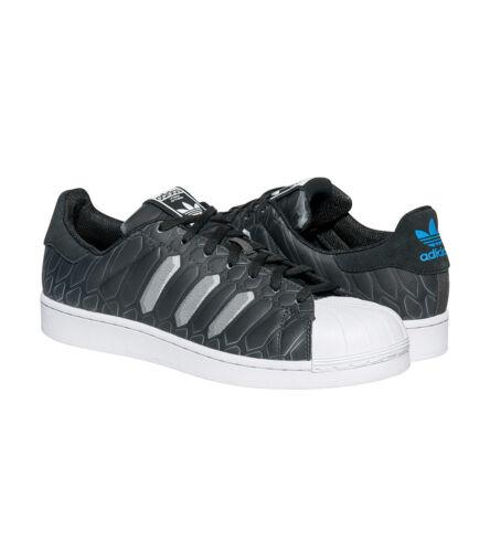 taille Aq7841 de Adidas basket Superstar 12 Ctxm pour Homme blanc noir gris Chaussures 0aCq1n