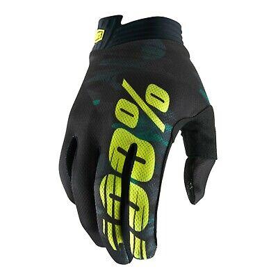 2019 100% Itrack Motocross Mx Bike Gloves - Camo Een Verrijkt En Voedingsstof Voor De Lever En De Nieren