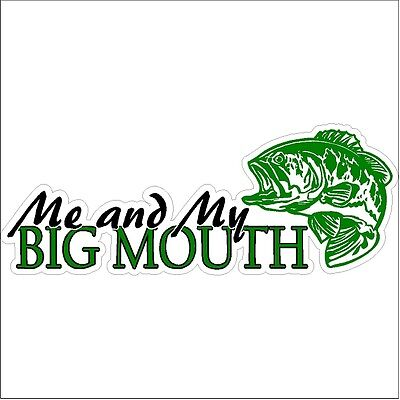 Car Truck Funny Fish Decal Sticker Boating I can/'t I have to go fishing