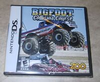 Bigfoot Collision Course Brand Factory Sealed For Nintendo Ds Big Foot