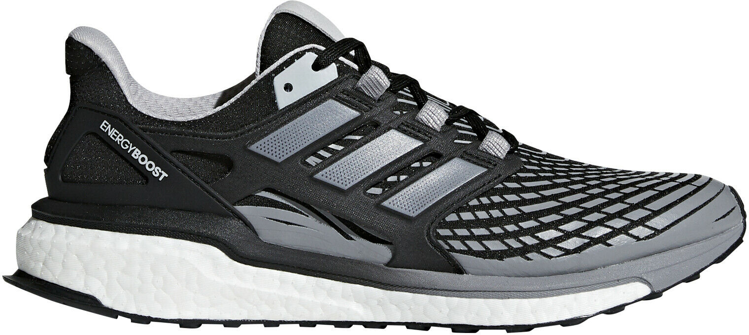 Adidas Energy Boost Mens Running shoes Black Cushioned Sports shoes