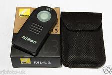 ML-L3 Remote Shutter-Release for Nikon D3300 D7100 D610 D750 D5500 D7200 D5500