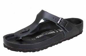 Details zu Birkenstock GIZEH Exquisit Leder schwarz normale Weite 0948071 NEU