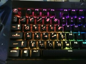 b965a6dd594 Image is loading CS-GO-Doubleshot-Gaming-KeyCap-Backlit-Key-Cap-