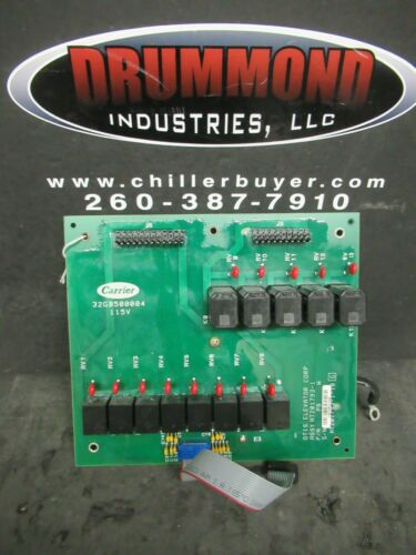 CARRIER OTIS ELEVATOR CORP CHILLER PROCESSING BOARD 32GB500004 HT201793-1-10