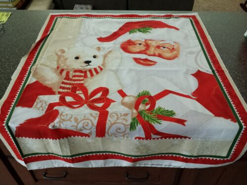Nick Panel 35x42 Laurie Cook Quilting Treasures Santa Claus Jolly Old St
