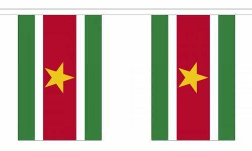 Suriname 6 Metre Bunting 20 Flag Surinamese National Flag South America American
