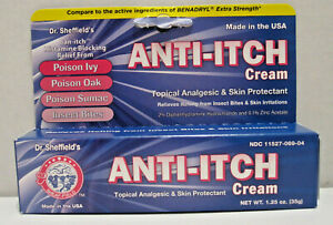 Details about New ! 1 25 oz Diphenhydramine 2% Anti-Itch Cream (Compare to  Benadryl Cream)