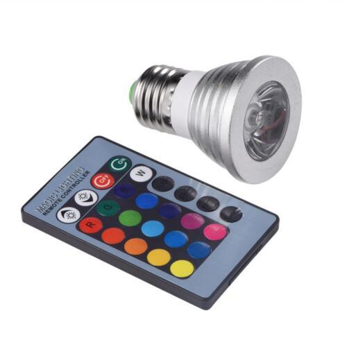 Farbwechsel Licht LED RGB Beleuchtung Glühlampe Glühbirne mit Fernbedienung toll