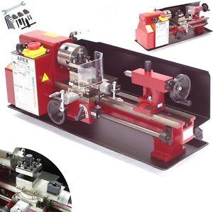 55449 mini tornio macchina 300mm banco lavori metallo for Mini tornio valex
