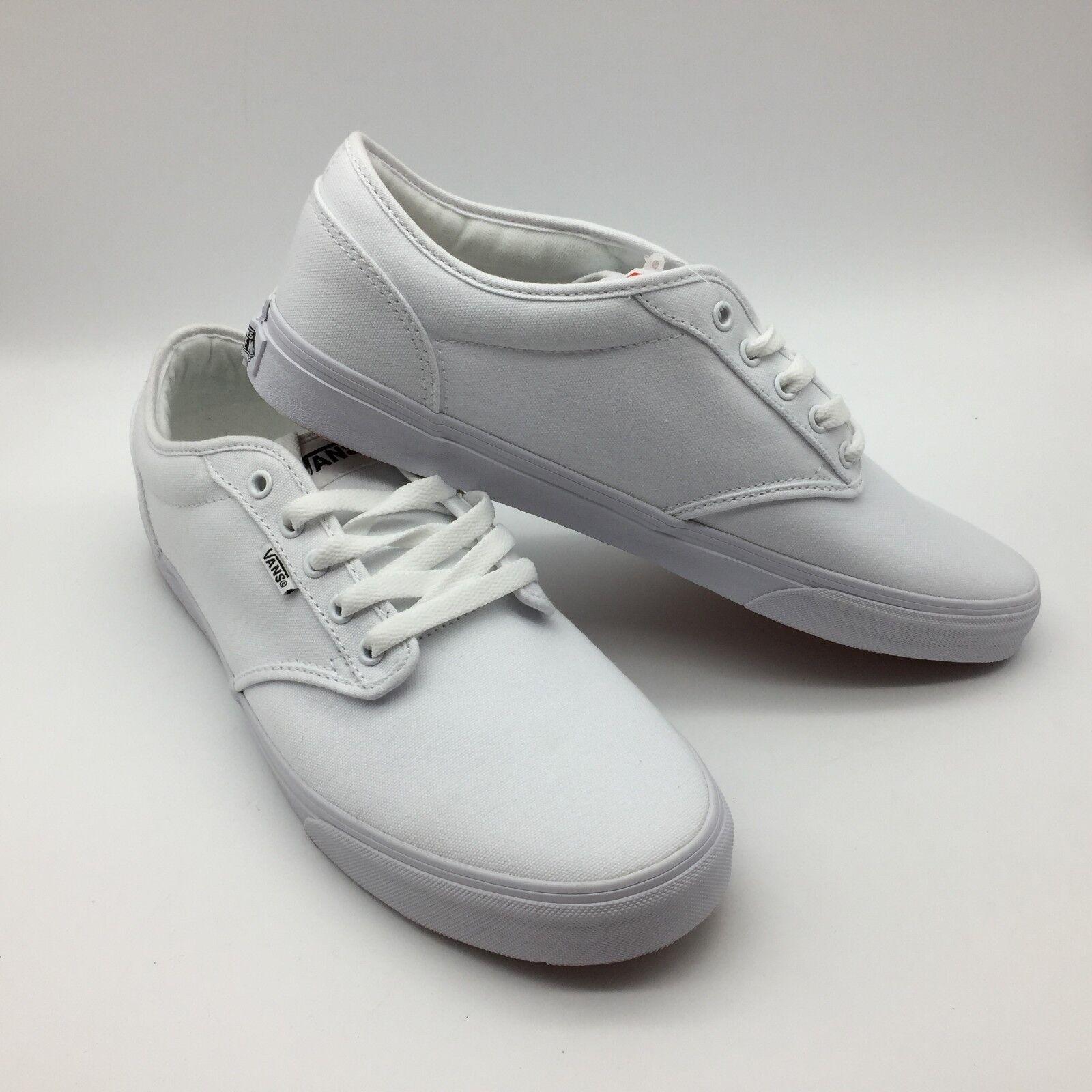 Vans Men Women's shoes's  Atwood  (Canvas) White white