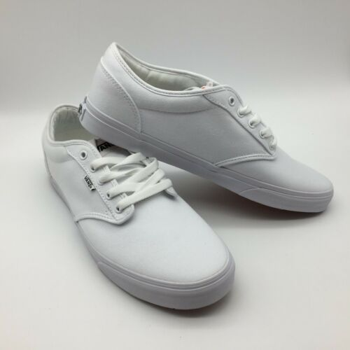 Vans mujer atwood Hombre Zapatos Blanco Lona blanco SFTSrw