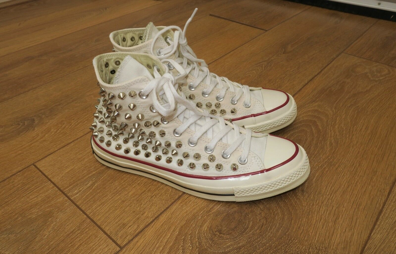 Converse Chuck Taylor All Star 70 Hi-Top Trainers Trainers Hi-Top studs white 35751e