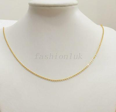 """24K Yellow Gold Plated Classic Chain 50cm 19.5"""""""