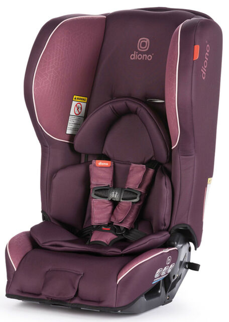 Diono Rainier 2 AX Convertible Child Safety Car Seat Booster Plum