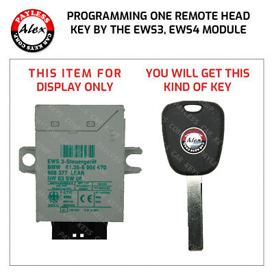 Key Programming For Bmw X5 X3 3 5 7 Series By Ews3 4 Module Mail In Service Ebay