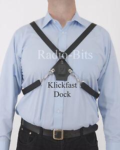 Klickfast-Centre-Chest-Harness-Dock-For-Radios-Radio-Cases-Body-Worn-Cameras