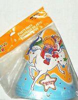 Rainbow Brite 8-paper Party Hats Hallmark Party Supplies