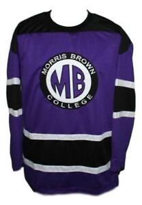 Martin-Payne-Morris-Brown-College-TV-Show-Hockey-Jersey-New-Purple-Any-Size