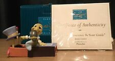Wdcc / Walt Disney Classic Collection Let Your Conscience Be Your Guide Jiminy