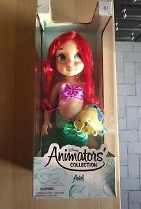 Disney 40cm La Petite Sirène Ariel Animator Poupée De Collection1ère Edition