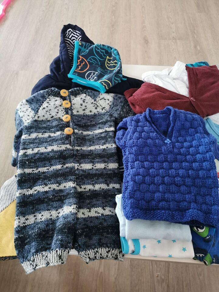 Blandet tøj, Tøjpakke str 68, Blandet