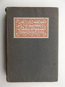 The-Old-Churches-of-Arllechwedd-Herbert-L-North-Vintage-Book-1st-Edition-1906