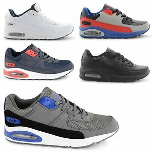 NEW-MENS-AIR-TECH-RUNNING-TRAINERS-GYM-WALKING-HI-TOP-SPORTS-SHOES-UK-SIZE-7-11