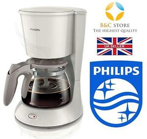 NEW Philips Daily Collection Coffee maker HD7461 glass jug Silk Beige fresh