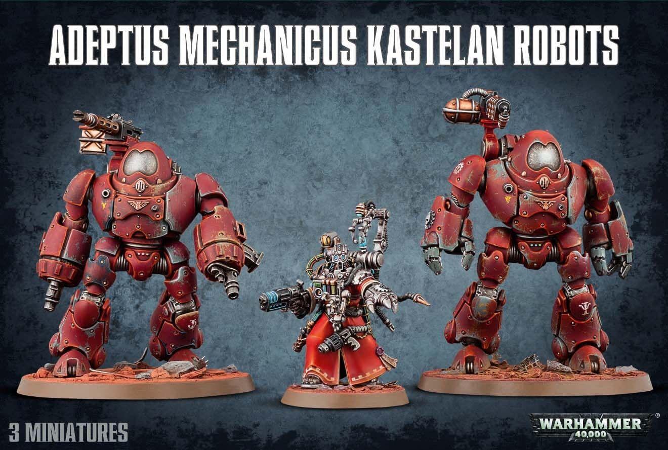 Warhammer 40k adeptus mechanicus kastelan roboter